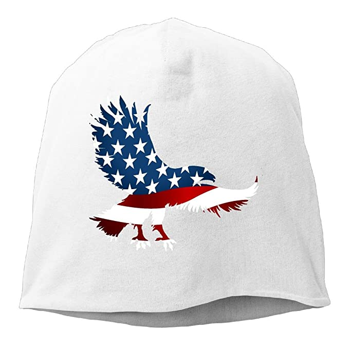 0a11db507764 Amazon.com: American Eagle Flag Cable Knit Skull Caps Thick Soft ...