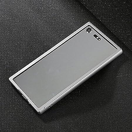 eff52c1a2f Amazon   MQman Xperia XZ Premium アルミバンパー スライド式 SO-04J 合金フレーム 背面枠 ストラップホール付き Xperia  XZpremium カバー エクスペリアXZ バンパー ...