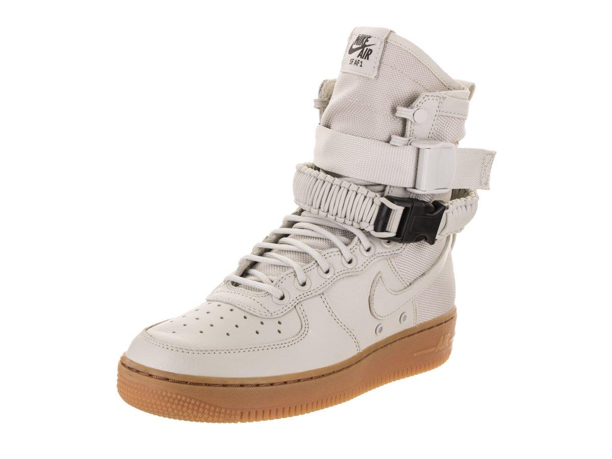 Nike Damen SF Air Force 1 Schwarz Leder Stiefel