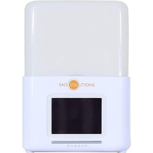 SAD Solutions WAKE UP Light Dawn Simulator One Size White