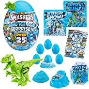 Smashers Dino Ice Age Surprise Egg (with Over 25 Surprises!)