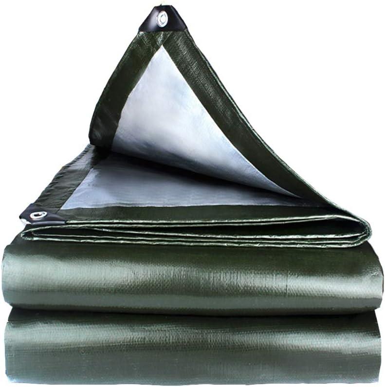 ZXXY Lona Impermeable, Lona de Lona Verde Militar para Cubierta de Patio Trasero, balcón, Porche, pérgola y Cubierta de Carpa para Acampar al Aire Libre, 180 g/Cuadrado,2x2m: Amazon.es: Deportes y aire libre
