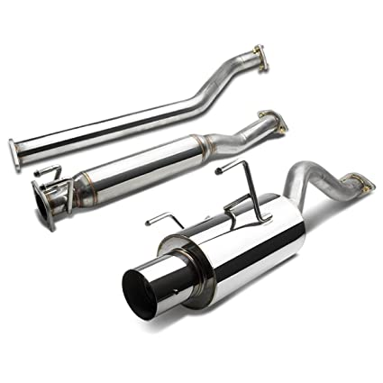 Amazoncom For Acura RSX Catback Exhaust System Tip Muffler - Acura rsx type s exhaust
