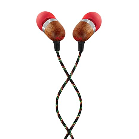 d99e58148d1 House of Marley EM-JE041-FI Smile Jamaica In-Ear Headphones, Fire: Buy House  of Marley EM-JE041-FI Smile Jamaica In-Ear Headphones, Fire Online at Low  Price ...