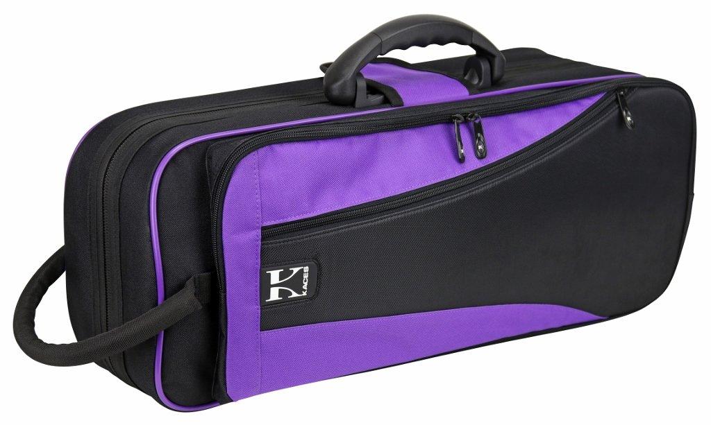 Kaces KBO-TRPP Lightweight Hardshell Trumpet Case, Purple