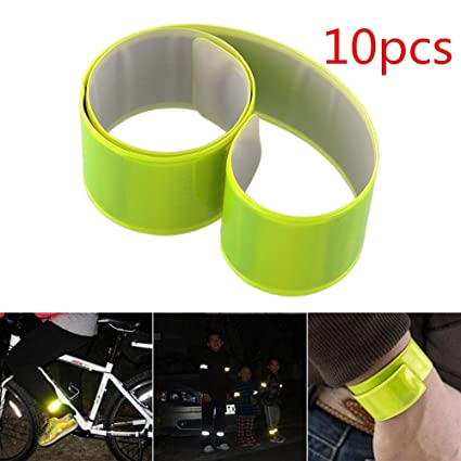 Back To Search Resultssecurity & Protection Bike Bicycle Cycling Band Arm Leg Pant Reflective Strap Belt Safety Reflector Professional Design