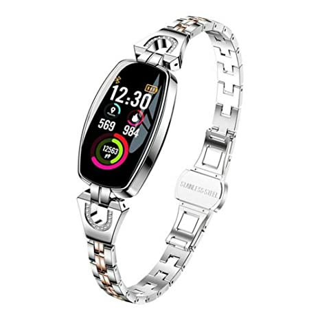 Amazon.com: Dragon Honor H8 Women Smart Watch for Blood ...