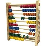 Shopaholic Abacus 10 Grades Multi-Color Wooden Instrument-3559