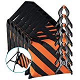 Neewer 6-pack Black/Orange Photographic Sandbag for Light Stands, Tripods and 6-pack 4.3 inches/11 centimeters Muslin Spring Clamps/Clips for Photo Studio Backdrops Backgrounds, Lighting Accessories