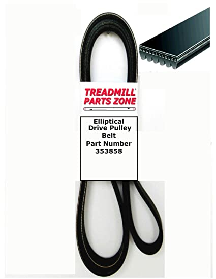 Treadmill Doctor Drive Belt for the Nordictrack T 7.0 Part Number 255858