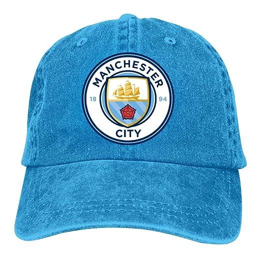 8b4101c7f Unisex Adult Man-Chester City F.C. Vintage Adjustable Baseball Cap ...