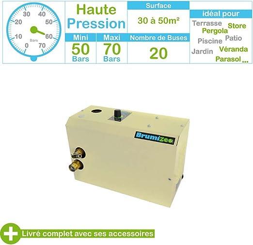Brumisateurs et système de brumisation haute pression 80 bars