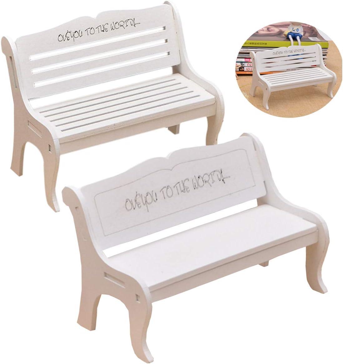 Mode Mini Stuhl Sofa Fee Garten Bank Modell Puppenhaus DekoRSPF