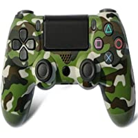 Dual Shock  Bluetooth Wireless Controller for PS4-Green Camouflage 12 months Warranty
