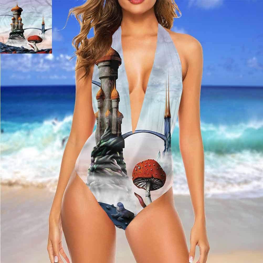 Mignon maillot de bain Fantastique, drôle Aliens espace extérieur doux et résistant à l\'eau Multi 18