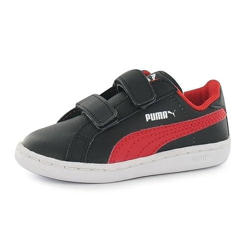 Puma Smash FUN Niños Zapatillas Zapatillas Velcro Tiempo Libre Deportes Guantes, color Multicolor, talla 34.5: Amazon.es: Zapatos y complementos