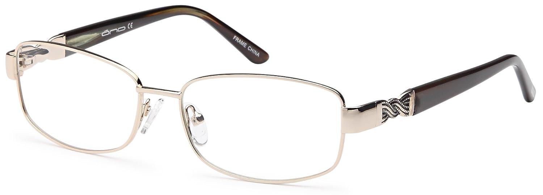 35e80d02e8 Amazon.com  DALIX Womens Prescription Eyeglasses Frames 54-16-135-33 RXable  in Gold GLS-C16248  Clothing