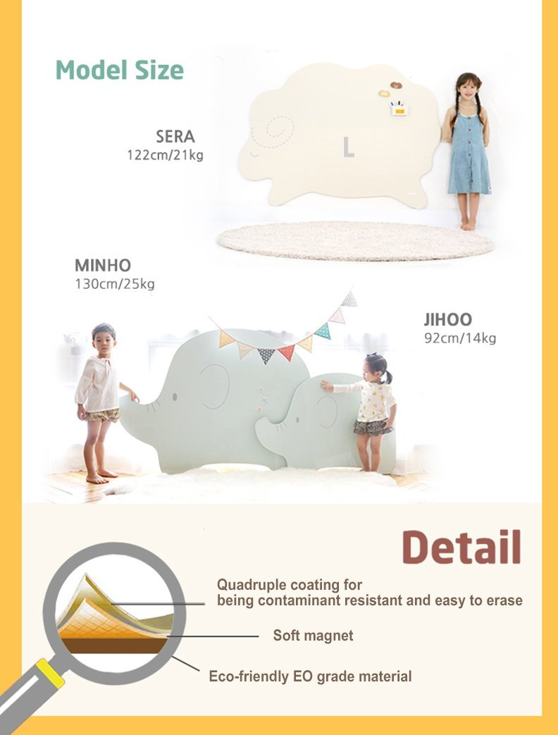 Character Kids Children Memo Home Decor Memory Bulletin Board Sheep pink