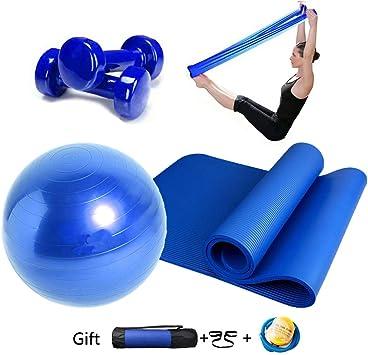 Essential Yoga Starter Set Kit 4pcs,1Yoga Mat 183*80*1.0cm,1x ...