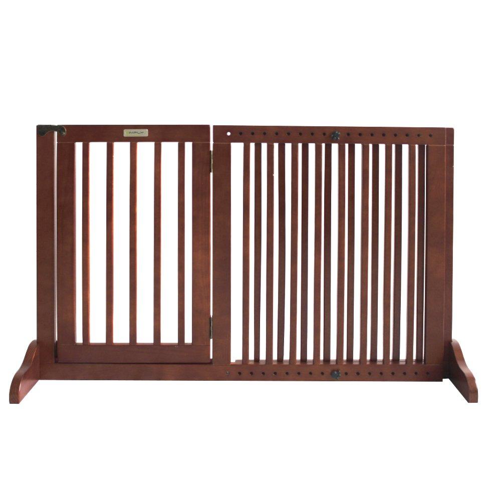 Simply Shield Supreme   Hunde-Barriere   Hunde-Absperrgitter   Verstellbare Breite mit Tür