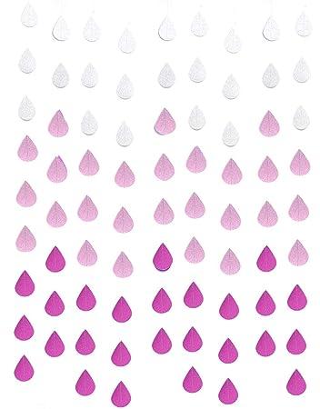Amazon.com: Lauthen.S Guirnalda de gotas de lluvia ...