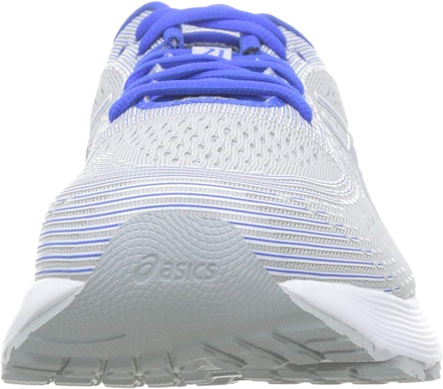 Asics Gel-Nimbus 21 Lite-Show, Zapatillas de Running para Hombre, Multicolor (Mid Grey/Illusion Blue 020), 40.5 EU: Amazon.es: Zapatos y complementos