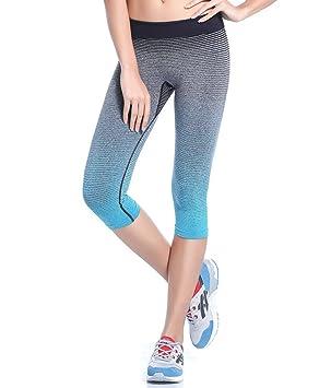 Qutool Pantalones de Deporte para Mujer Yoga Leggings Medias ...