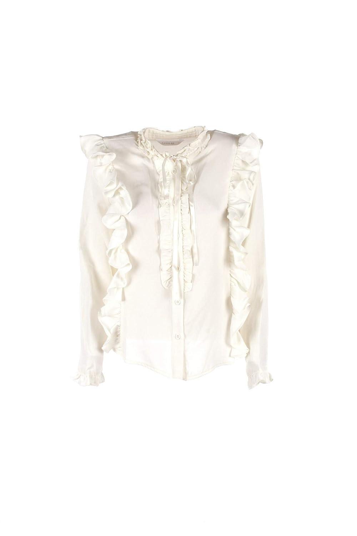 ANONYME Camicia Donna L Bianco P138ft144 Autunno Inverno 2018/19