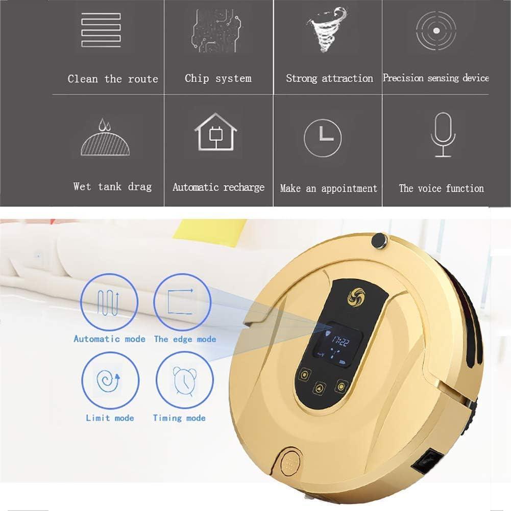 BuBu-Fu 1800Pa Robot Aspirador super tranquila Delgado ...