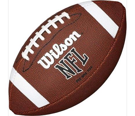 Wilson NFL Pee Wee K2 - Balón de fútbol con Tirantes y Cordones ...