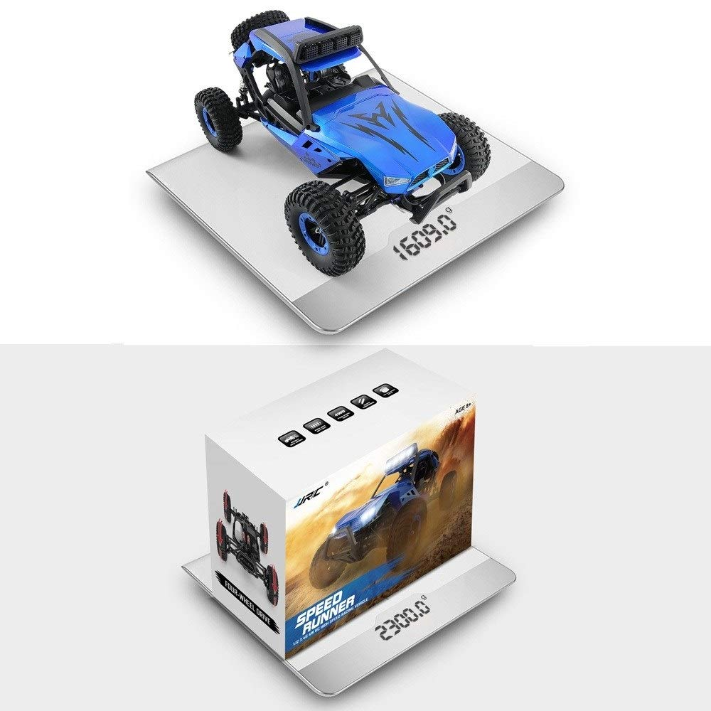 TBFEI 1/12 All Fields Drift RC Racing Car RTR Toy Christmas Birthday Dream Gift for Children and Adults-38.52318cm 4WD 45Km/k High Speed RC Violent Off-Road Racing (Color : Blue) by TBFEI (Image #6)