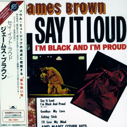 Say It Loud I'm Overseas parallel import regular item Sales results No. 1 Black