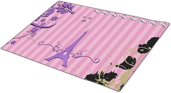 GB Plan Doormat Memories from Paris - Pink Purple Funny Door Mats