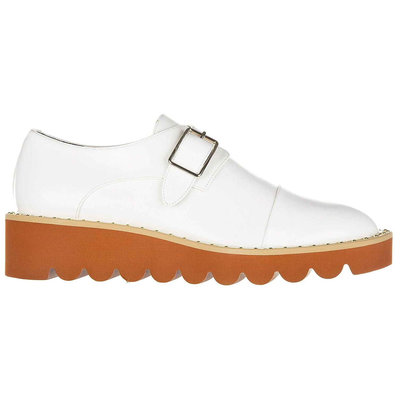 Stella Mccartney Clásico Zapatos mujemonkstrap felik Blanco 39 EU