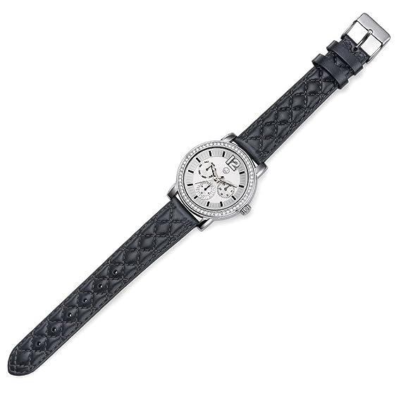Oliver Weber Reloj Murcia negro Cristales de Swarovski