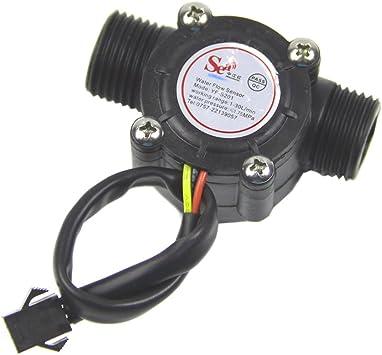 Wasserdurchflussmesser 1-30 l//min Wasserdurchflusssensor