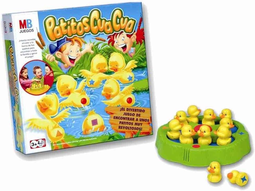 Hasbro 640334 - M.B. Juegos Patitos Cua Cua: Amazon.es: Juguetes y juegos