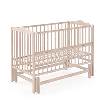 Vitalispa Babybett Konni 120x60 Babywiege Bett Beistellbett Wiegefunktion Natur Lackiert Amazon De Baby