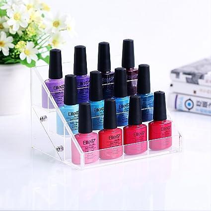 Noza Tec - de pintauñas (6 niveles acrílico esmalte de uñas ...
