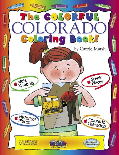 Books : The Colorful Colorado Coloring Book! (Colorado Experience)