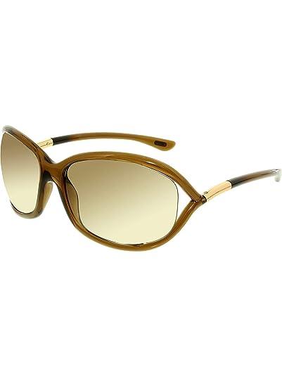 ef3c675c7064d Amazon.com  Tom Ford Women s FT0008 614 Jennifer Sunglasses ...