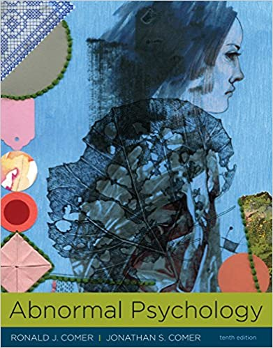 Abnormal Psychology Kindle Edition By Ronald Comer Jonathan Comer
