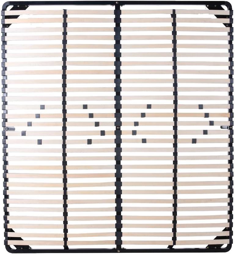Somier de láminas 160x200 cm - Incluye 9 pies
