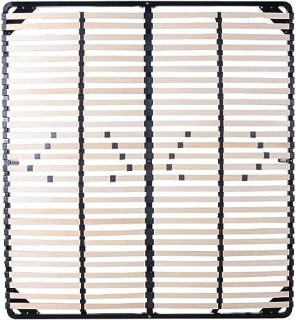 Sommier multiláminas 200x200 cm con patas - varias medidas