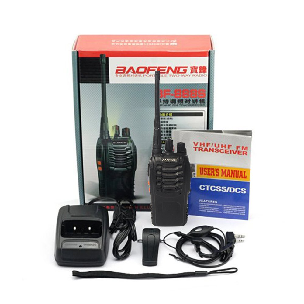 Baofeng BF-888S Two Way Radio (Pack of 10) and USB Programming Cable (1PC) by BaoFeng (Image #5)