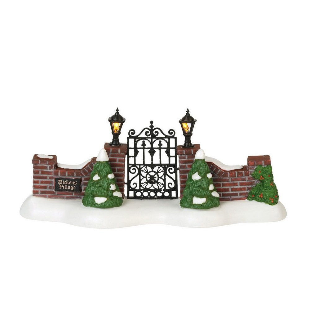Department 56 Dickens Village Dickens' Village Gate 6000604