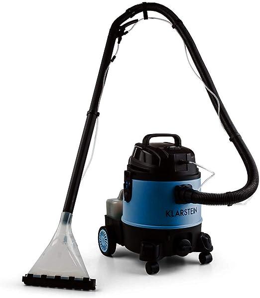 Klarstein Reinraum 2G: aspirador industrial seco/húmedo, aspiradora, aspirador de líquidos (1250 W, estable, depósito de 20 l, función de reposo automático) Negro: Amazon.es: Hogar