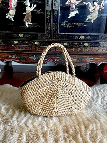 Handwoven Straw Tote Bag,Straw Shoulder Bag,Straw Beach Bag,Straw Basket Tote,Straw Handbag,Straw Purse Bag,Seagrass Bag,Straw Market Tote,Basket Bag