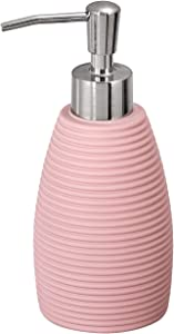 Soft Touch Lotion or Soap Dispenser Pink