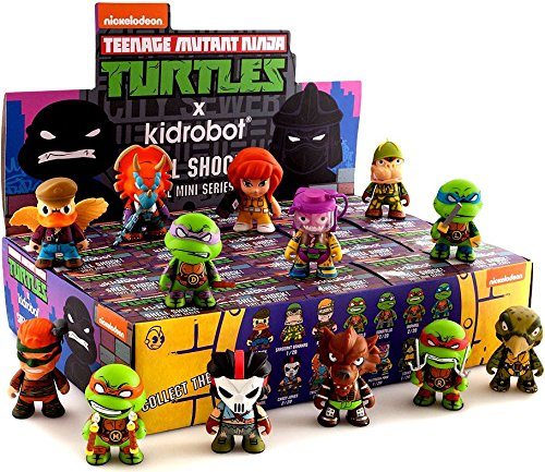 TMNT Teenage Mutant Ninja Turtles Series 2 Shell Shock Brand New Display Case 20 ()